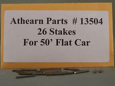 Athearn Parts - 50' Flat Car Stakes - Part # 13504