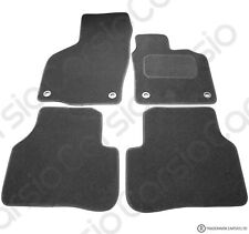 Volkswagen Passat B6 2005 to 2007 Tailored Black Car Floor Mats Carpets 4pc Set