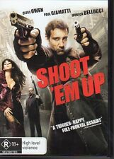 SHOOT 'EM UP - DVD R4 Clive Owen  Paul Giamatti - LIKE NEW - FREE POST
