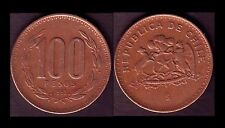 ★★ CHILI / CHILE ● 100 PESOS 1992 ● E3 ★★