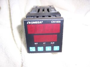 Omega Model CN1601-F1, CN1600 Process Controller Analog, T/C 120-240VAC 50/60HZ