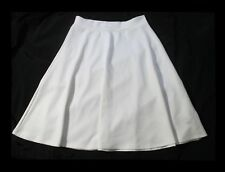 IMAGE NATION SWING & FLARE SKIRT IVORY NOW ON SALE!  Sz LRG Fits 12 -14