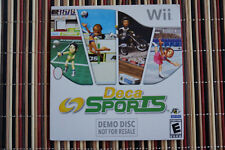 Deca Sports Wii Demo Disc Hudson