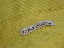 ARNALDO BASSINI Green50%WoolMixShortSl Sz90cm(S/M)