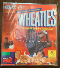 Wheaties Tiger Woods (flat) Cereal Box - 2002 (?)