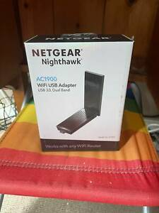 Netgear Nighthawk AC1900 WIFI USB 3.0 ADAPTER, DUAL BAND