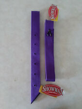 Purple Nylon Off Side Billet Latigo & Tie Strap For Western Saddle Girth Cinch