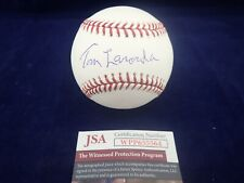 "Tommy ""Tom"" Lasorda LA Dodgers Signed OML Baseball - JSA WPP655564"