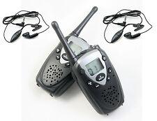 G-099St 462Mhz, Frs (Voice Scrambler & Fm Radio)walkie talkie(7Km) + earphone