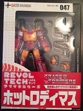 REVOLTECH YAMAGUCHI KAIYODO HOT RODIMUS Transformers Series No: 047 Figure