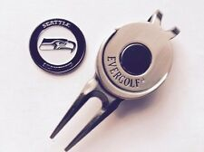 NFL Seattle Seahawks Golf Ball Marker and Magnetic Divot Tool