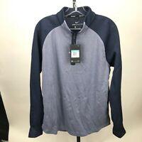Nike Men's AeroLayer Golf ¼ Zip Sz M Med AJ5442 451 $150 Blue
