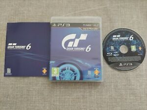 GRAN TURISMO 6 PS3 PLAYSTATION 3 PREOWNED