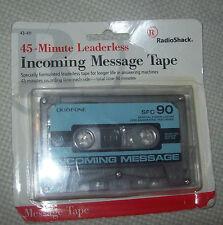 RadioShack 45-Minute Leaderless Incoming Message Tape!