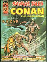 Savage Tales 5 Conan the Barbarian Magazine Jim Starlin Al Milgrom art Ka-Zar