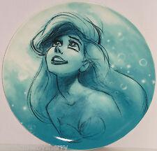 "Disney Store Princess Ariel Little Mermaid Plate Decorative Charger Art 14"" NIB"