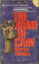 The Hand Of Cain by Martin Thomas 1967 159 Page Book GC