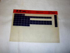 KAWASAKI AR80 AR 80 C2/C3  GEN PART CATALOGUE MICROFICHE