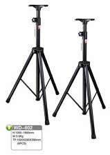 Pair of Professional Heavy Duty Steel Speaker Stands WD602