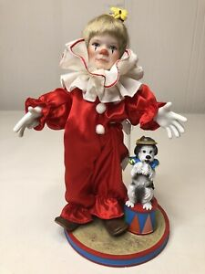 """RECO """"Tommy the Clown"""" Porcelain Doll Knowles"""