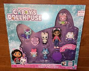 DreamWorks Netflix Gabby's Dollhouse Deluxe Figure Set Toy New