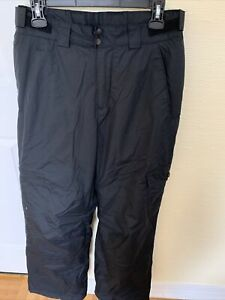 Columbia Men's Snow Gun Cargo Snow Ski Pants Black WM8008  1462951