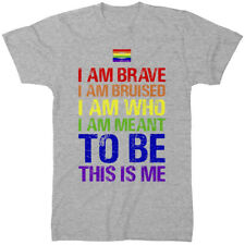 Gay Pride T Shirt - This Is Me LGBTQ Transgender Homosexual Proud Equality Proud