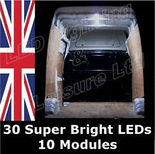 12v LED Interior Van Loading Light Set eg Renault Trafic, Master, Mascot, Extra.