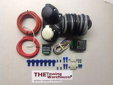 Twin 7 Pin 12n 12s Kit de cableado eléctrico Gancho de remolque remolque carga relé de bypass 7way