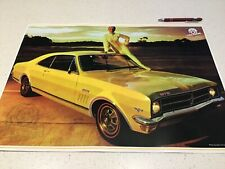 RACING PERFORMANCE POSTER HOLDEN GTS VINTAGE MOTOR ENGINE CAR V8 COMMODORE