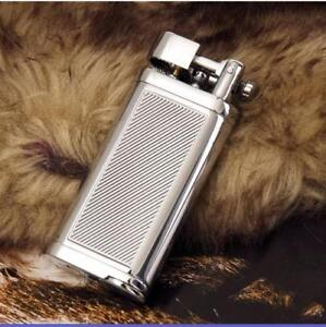 (Lighter no gas)Stainless Steel Pipe gas lighter creative metal inflatable