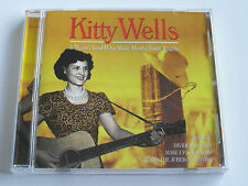 Kitty Wells - It Wasn't God Who Made Honky Tonk Angels (CD Album) Used Very Good