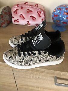 Stan Smith Adidas Zebra Print Trainers Size 4
