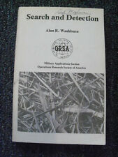 Search and Detection by Alan Washburn (Naval Postgraduate School) 1981, Rare