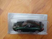 NEW 1/43 DEAGOSTINI - CLASSIC 1999 PORSCHE 911 GT3 GREEN DIECAST CAR