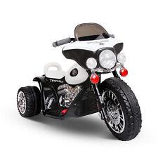 Kids Electric Ride on Car Motorbike Harley Style Motorcycle Toy Bike Police
