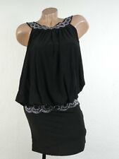 Señora minivestido vestido de fiesta vestido balonkleid Stretch cóctel vestido Bonprix