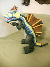 Fisher Price Imaginext Moving Roaring Blue/Green Spinosaurus 14-16 inch 2005