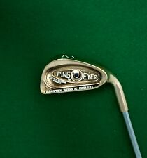 Refurbished Ping Eye2 Blue Dot BeCu Beryllium Copper 2 Iron Regular Steel Shaft