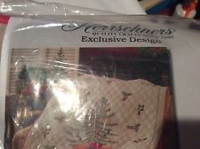 Herschners Christmas Tree Skirt Embroidery Kit