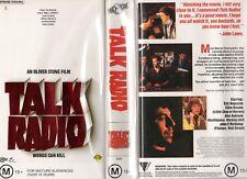 TALK RADIO - Oliver Stone  VHS - PAL - NEW - Never played! - Original Oz release