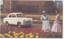 Ford Anglia de luxe 100E Original Postcard export issue Publication Number C9378