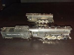 Vintage HO Steam Locomotive Lot AHM Rivarossi 0-8-0 Indiana Harbor Belt