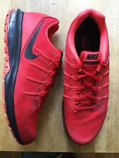Mens Nike Max Dynasty UK 10 Red Black. Not Air Force one