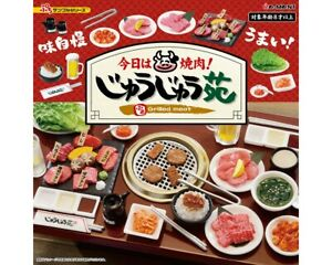 Rement Miniature The Japanese yakiniku Today is Grilled Meat Room Full Set