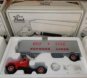 Red Star Express Lines '60 Mack Model B-61 First Gear Truck