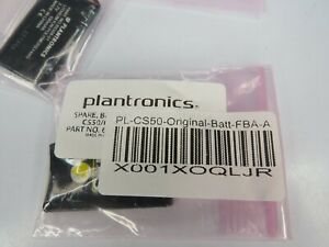 (2 New) Genuine Plantronics Battery for CS50/55 65358-01 OEM