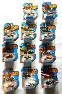 UPick! Star Wars Hot Wheels 2014 Vehicles Darth Vader R2D2 BB-8 Luke Skywalker
