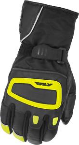 Fly Racing Xplore Gauntlet Textile Motorcycle Gloves HI VIS SHIPS FREE