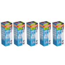 5x Osram G9 Eco Halógeno Lámpara de zócalo 230v 20w = 25w halógena Halopin